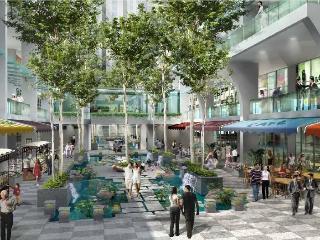 Duplex with view of Kuala Lumpur Twin Towers