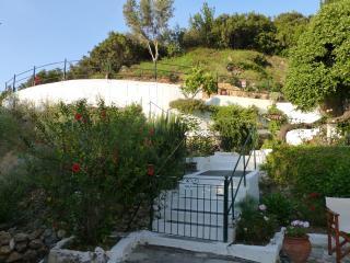 Villa land and patio