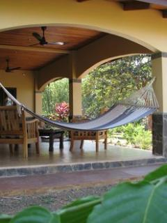 Relax in the hammock on Front Terrace