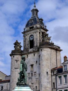 The 'big clock' of La Rochelle