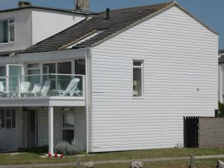 Beach house, great sea views, private beach access