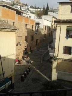 Stairs to Albayzin