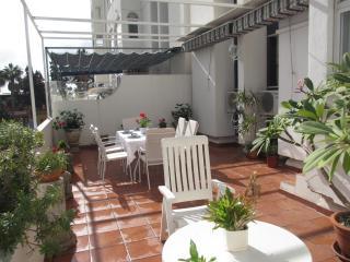 Beach El Palo, WIFI, garage, Big terrace, A/A, Olias