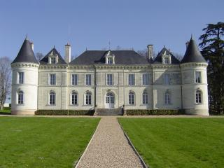 Beautiful Loire Valley chateau with pool & views, Savigny-sous-Faye