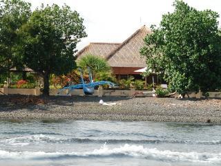 Beach by the villa.