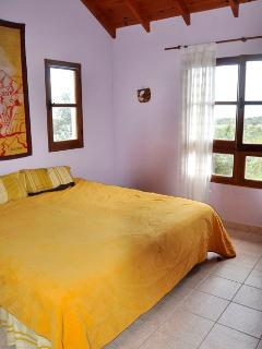 Window view of bedroom one