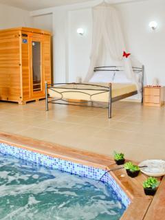 Indoor jacuzzi - Sauna