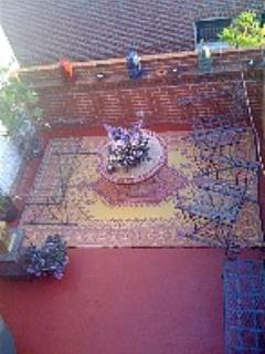 Enjoy morning tea or BBQ your dinner on the Moroccan-themed deck w/ gas grill.