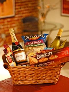 Request roses and chocolate, snacks or a stocked refrig upon your arrival.