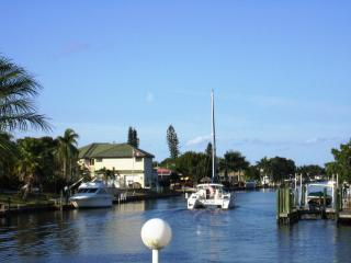Adorable and Affordable Cape Coral Sailboat Access Waterfront Vacation Home