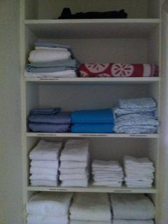 New Linens and  Beach Towels