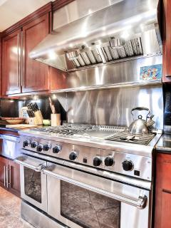 Enjoy cooking with new, top of the line gourmet appliances