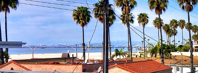 View from the rooftop patio! Long Beach California is beautiful day or night!