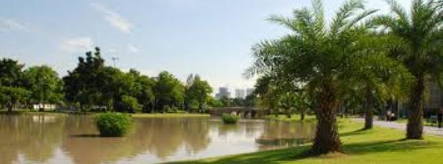 Lumphini Park 10 min walk