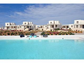 Pool Front Villas in Paros