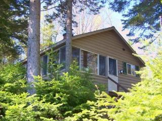 156 Well-appointed cozy cabin on water`s edge with mountain views, Greenville