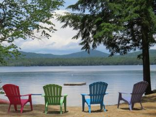 Glamping Plus!  Lovely, rustic lakefront cabin!, North Bridgton