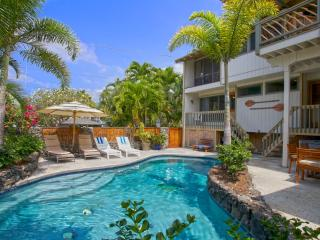 Kona Beach Rental 6 Bdrm, 5 Bath, Private Pool, Kailua-Kona