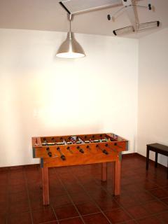 Babyfootball table
