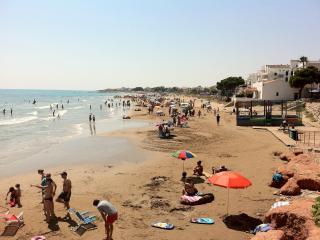 Playa del Cargador Main Beach in the center of Alcossebre