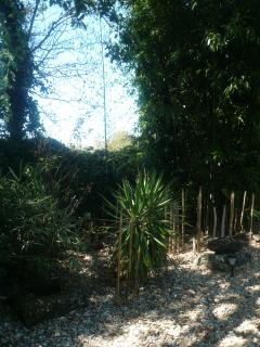 Wonderful private mature gardens