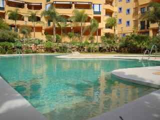 Spacious two bedroom two bathroom apartment with sea and pool views