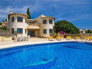 5 bedroom Villa in Moraira, Costa Blanca, Spain : ref 2211029, La Llobella