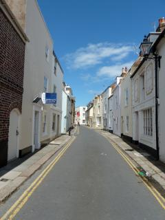 The cottage is in Deal's famous Conservation area