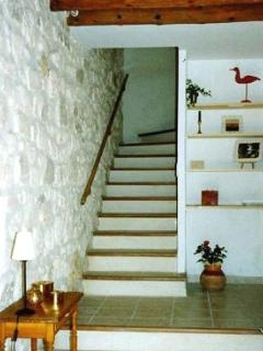 The traditional staircase