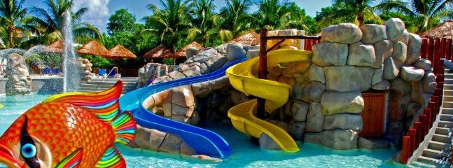 Special kids' pools and kids' Club at Sandos Caracol Eco-Resort & Spa - FREE with All Inclusive