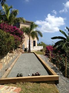 Enjoy a game of Bocce right on the premises - fun for all!
