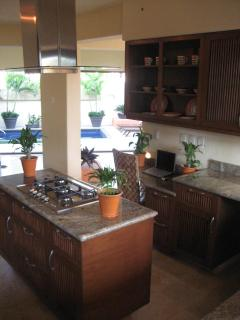 Kitchen all stainless steel appliances