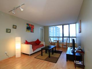CENTRAL LOCATION FULL  FURNISHED CONDO SKYTRAIN, Vancouver