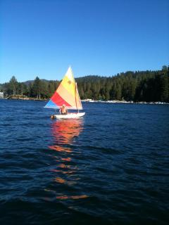 Boating Lake Arrowhead