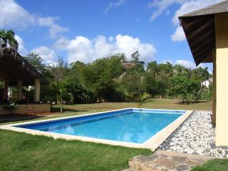 Caribbean style 3 bedroom villa with pool