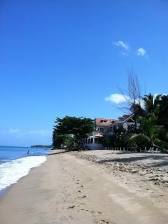 Take a morning stroll down our un-crowded beach.