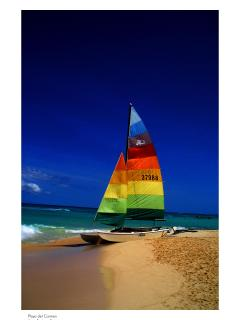 Catamaran at Kool Beach