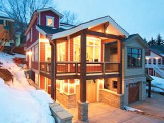 Designer luxury dreamhome steps 2 skiing & Main st, theater room, best location!