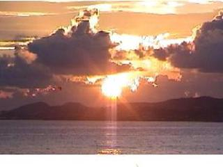 Dawn over Christiansted