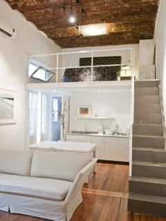 stairs to  double bedroom, loft room