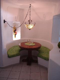 GALLEY STYLE DINING AREA