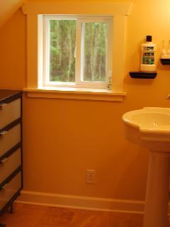 Upstairs bath view