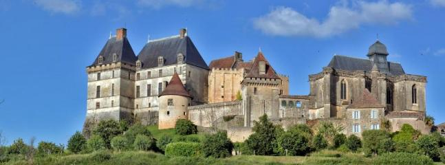 Chateau and Village of Biron
