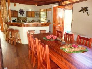 large fullly stocked Kitchen and dining room
