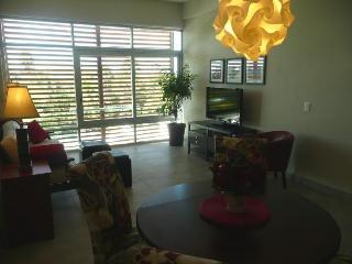 Stylish living/dining area