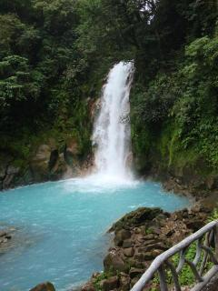 Rio Celeste Waterfall, Tenorio National Park.