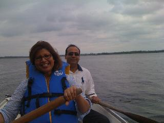 enjoy boating