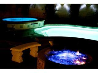 POOL, SPA, & FIRE RING