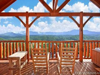 Enjoy A Beautiful Sunrise over Amazing Views of the Smoky Mountains.