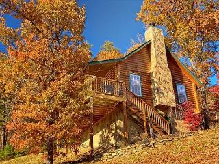 GORGEOUS MOUNTAIN VIEWS/PRIVATE CABIN WITH WOOD BURNING FIREPLACE